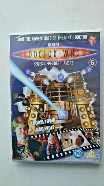 Doctor Who Series 1 Episodes 11 & 12  DVD  Christopher Eccleston  SEALED